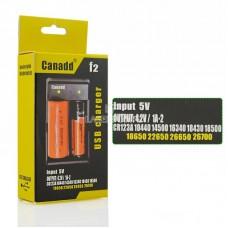 Двойное зарядное устройство Canadd F2 USB