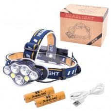 Налобный фонарь Police BL-KC07-3T6+2XPE+2COB