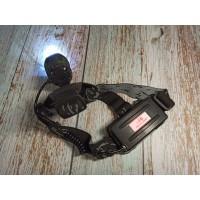 Мега налобный фонарь Police BL-2188B-XML (верхняя кнопка включения)