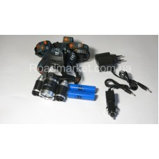 Мегадальнобойный налобный фонарь Police RG-3000