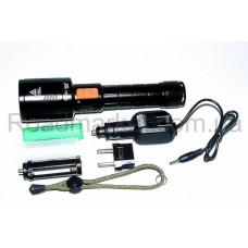 Тактический ручной мегамощный фонарик Small Sun ZY– K3 Электрический зум