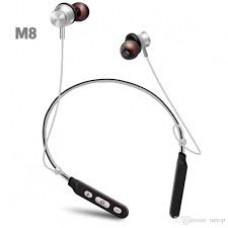 Bluetooth stereo гарнитура металл BT M8 Sport red магнит