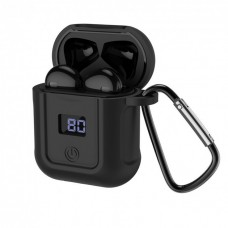 Bluetooth наушники\гарнитура BT Hoco S11 silicon case дисплей