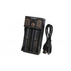 Зарядное устройство C20 (14500/16340/18650/26650) на 2АКБ