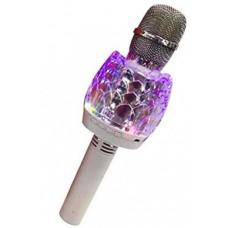 Микрофон-колонка Karaoke Q101 bluetooth white