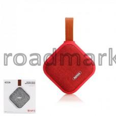 Bluetooth колонка Remax RB-M15 waterproof (красный, белый) Гарантия 6 месяцев!