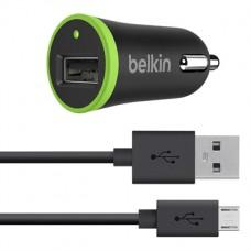 Автомобильное зарядное устройство Belkin F8J090 2in1(adap+cable) 2,1А micro USB