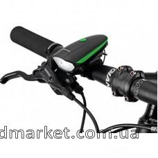 Велофара+ велосипедный звонок 7588