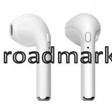 Bluetooth stereo гарнитура BT i7s TWS white (с кейсом)