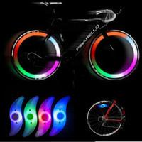 Фонарь велосипедный YC-018/YY-601 на спицы